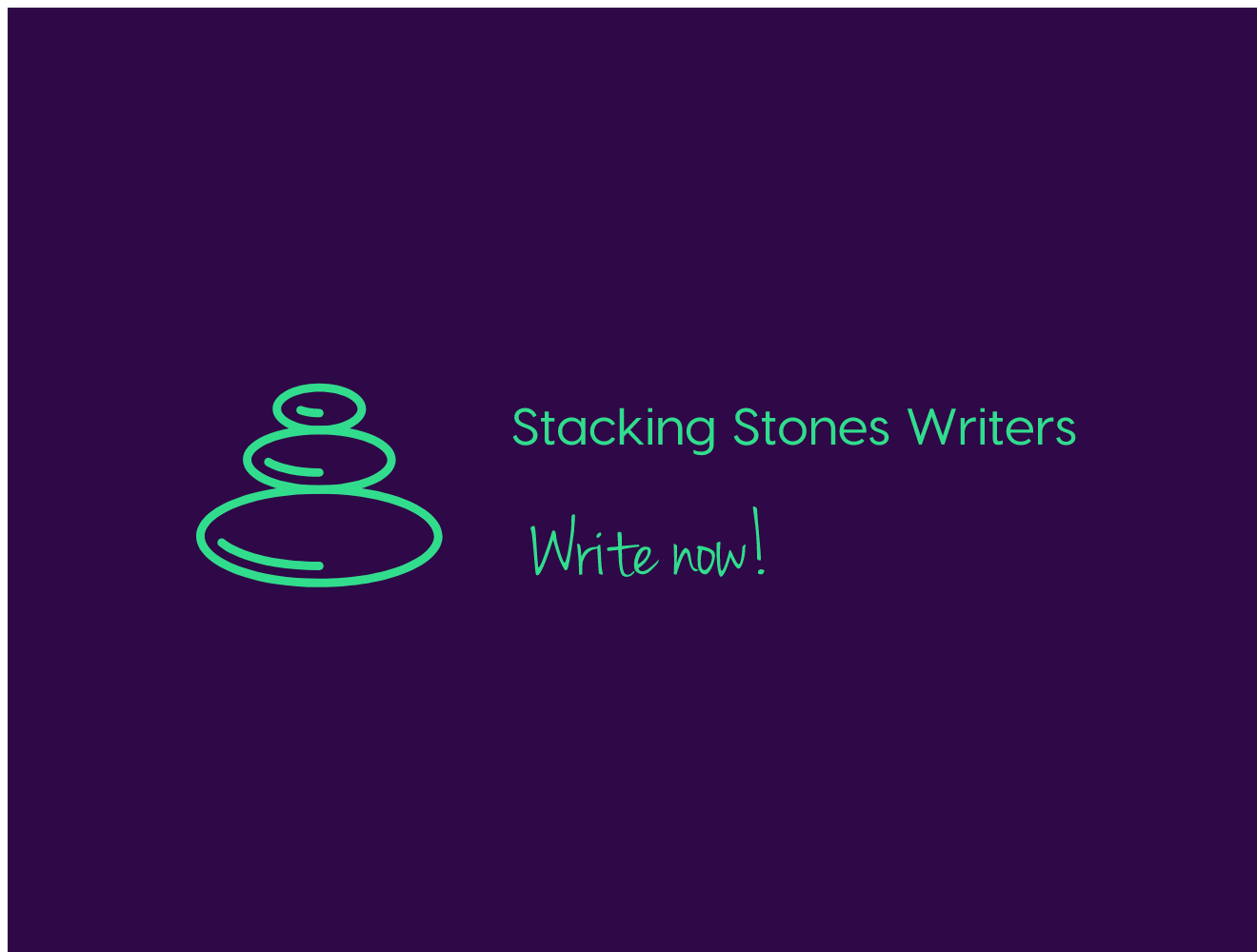Stacking Stones Writers logo