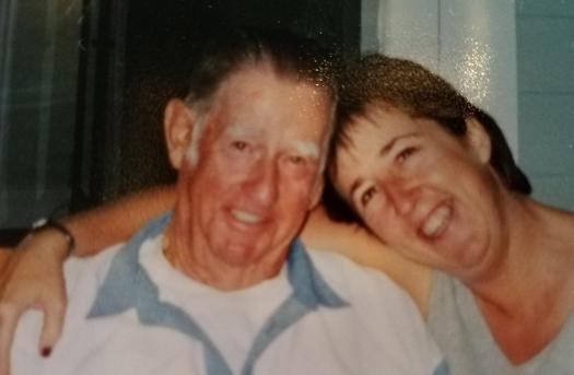 My Dad, William Tillmon, and me; September, 2001.  (Photo:  John Duncan)